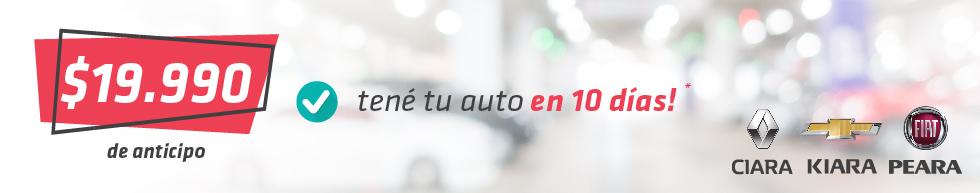 tene tu auto por 19990